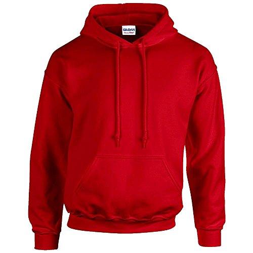 Gildan Blend Rosso 18500 Cappuccio Heavy Felpa Con 11Hcw7S4qr