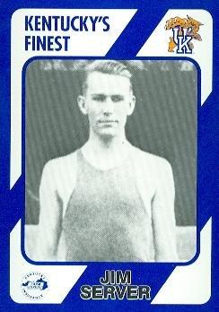 - Jim Server Basketball Card (Kentucky) 1989 Collegiate Collection #246