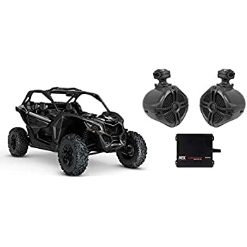 Yamaha YXZ 6.5 250w Rollbar Roll Cage Tower Speakers+MTX 2-Channel Amplifier