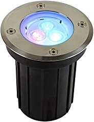 Lámpara LED de Exterior, Sumergible, color Multicolor Tecnolite H-520/3W/RGB