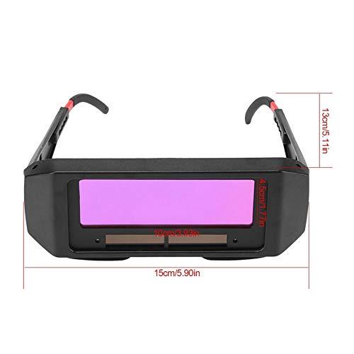 Hengyuanyi - Gafas de soldar con oscurecimiento automático solar, máscara de arco, casco y gafas para soldar para proteger tus ojos de chispas: Amazon.es: ...