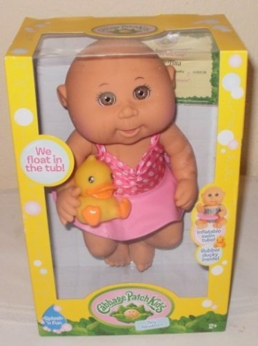 Amazon Com Cabbage Patch Kids Tiny Newborn Splash N Fun Doll