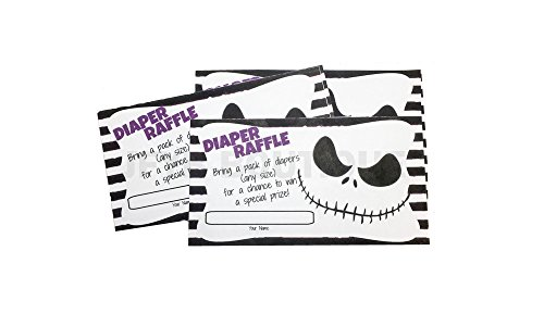 Nightmare Before Christmas Themed Diaper Raffle -