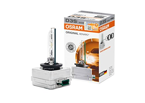 Euro Hid Xenon Headlight Lights - OEM 66340 OSRAM D3S Xenon HID Headlight Bulb