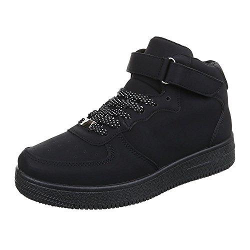 Ital-Design - Zapatillas altas Mujer negro