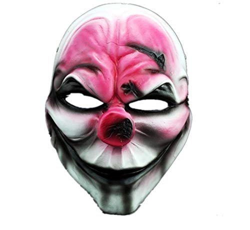 (YUONE Payday 2 Mask Film Theme Mask Heist Hoxton Mask Party Costume Props Halloween Collection Mask For)