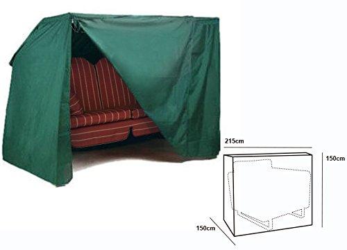 WOLTU #126 Schutzhülle Schutzhaube Hülle für Gartenmöbel wasserdicht Grün (für Hollywoodschaukel Grün GZ1166)