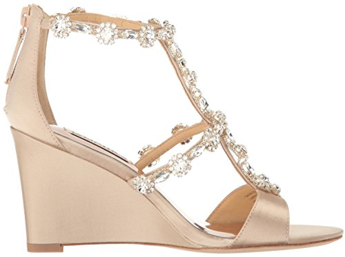 Badgley Mischka Women's Tabby Wedge Sandal Nude outlet pay with paypal 3rDVZ2yg4g