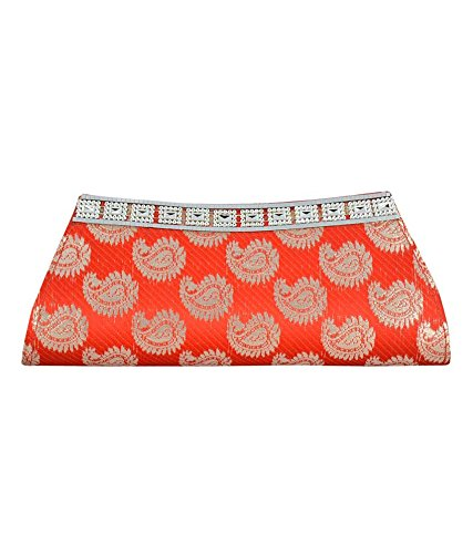 Rapidcostore women Clutch Wallet Handbag Purse  Red  for ladies