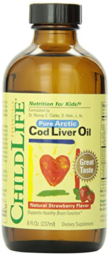 8 Ounce Liver - Child Life Cod Liver Oil, Glass Bottle, 8-Ounce