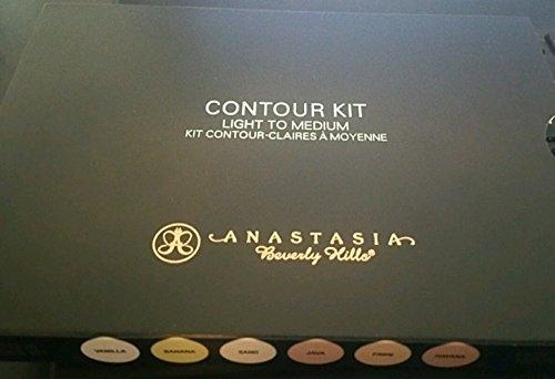 Anastasia Maping Shop Beverly Hills Light to Medium Contour Kit Palette 100% AUTHENTIC (Anastasia Contour Banana)