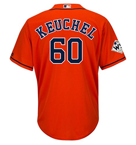 Keuchel Houston Astros World Series Alternate Orange Cool Base Jersey (X-Large)