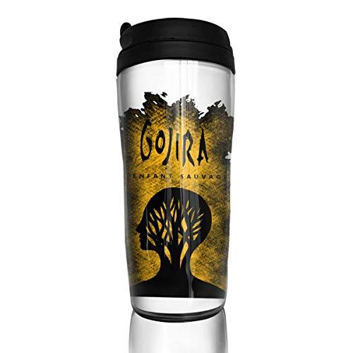 Gojira L'enfant Sauvage Coffee Mug, Coffee Cup With Sealed Lid, Food Grade Abs Thermos Coffee Mug Tea Cup