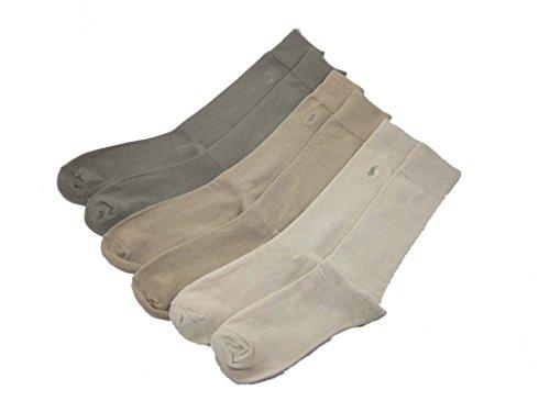 Polo Ralph Lauren Assorted Brown/Khaki Dress Socks