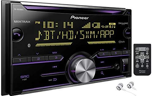 Pioneer Double DIN In-Dash Built-in Bluetooth iPod iPhone HD Radio CD...