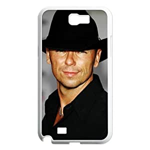 CTSLR Kenny Chesney Protective Hard Case Cover Skin for Samsung Galaxy Note 2 N7100-1 Pack- 5