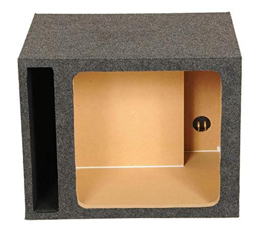 Q Power HD115 VENT SQ Single 15-Inch Vented Custom Speaker Box for Kicker L7 Subwoofer (15 L7 Box Subwoofer)
