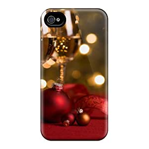Perfect New Year's Toast Case Cover Skin For Iphone 4/4s Phone Case