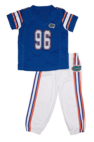 FAST ASLEEP Florida Gators Home Uniform Pajama Set New