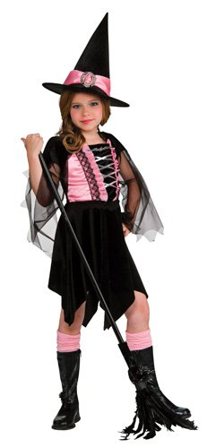 [Glamour Witch Child Costume Size Medium] (Glamour Witch)