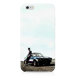 Paul Walker Car Fast And Furious 7 Hard Plastic Snap-On Case Cover For iPhone 6 Plus by runtopwell