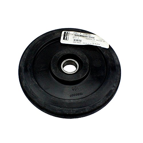 Genuine Polaris Part Number 1590307 - ASM-WHEEL,IDLER 6.0 OD PLAIN for Polaris ATV / Motorcycle / Snowmobile/ or Watercraft
