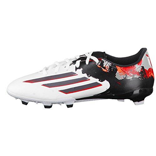 adidas Messi Pibe de Barr10 10.3 Fg - Botas de fútbol Hombre Blanco - ftwr white/granite/scarlet