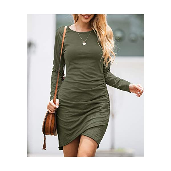 Casual Basic Fitted Short Dress