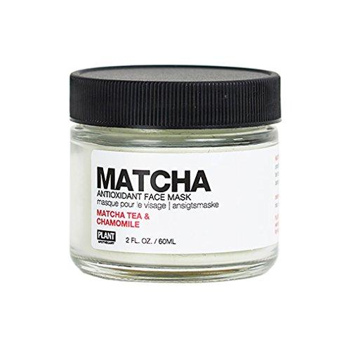 (PLANT Apothecary Matcha Antioxidant Face Mask - USDA Organic Matcha Tea & Chamomile - For Unisex - 2 oz Mask)