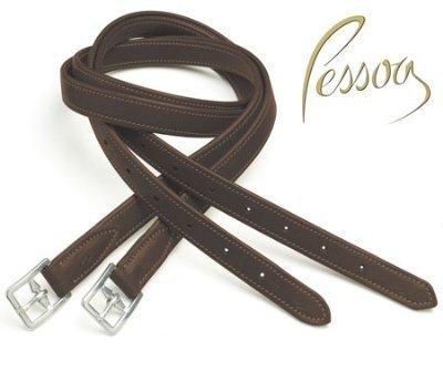 Pessoa Biothane Chafeless Leathers 54 x 7 / 8 DKブラウンby English Riding供給   B018RR3L5S