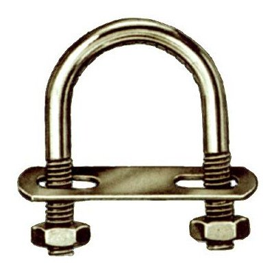 "Hindley 41107 3/8"" X 8"" Zinc Plated Lag Eye Bolt Screw Th..."