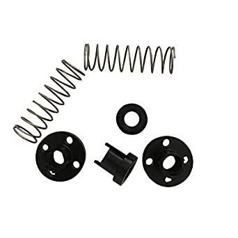 Pitch 2mm Lead 2mm 2-Pack 3D Printer T8 POM Anti Backlash Nuts for Lead 2mm 8mm Acme Threaded Rod Eliminate The Gap Spring DIY CNC Accessories 4mm