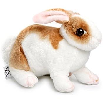 amazon com robbie the rabbit 11 inch realistic stuffed animal