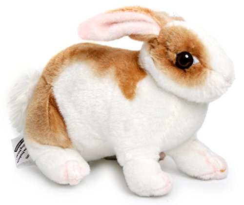 Robbie the Rabbit | 11 Inch Realistic Stuffed Animal Plush Bunny | By Tiger Tale Toys