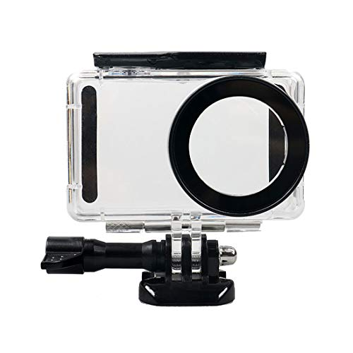 MENGS Underwater Waterproof Housing Acrylic+Tempered-Glass for Xiaomi Mijia Mini 4k Action and Video Camera
