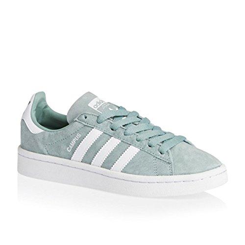 adidas Originals Mädchen Sneakers Campus J grün (Vertac / Ftwbla / Ftwbla)