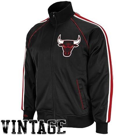 Chicago Bulls Mitchell & Ness Final Score Throwback Full Zip ...