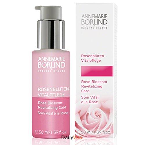 AnneMarie Borlind, Natural Beauty, Revitalizing Care, Rose Blossom, 1.69 fl oz (50 ml) - 2pc
