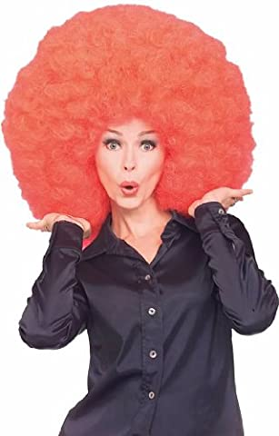 Rubie's Costume Super Size Afro Wig, Red, One Size