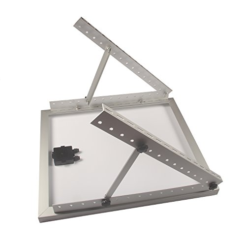 Adjustable Solar Panel Mount Mounting Rack Bracket Set Rack Folding Tilt Legs, Boat, RV, Roof Off Grid (28-inch Length) by Link Solar (Image #6)