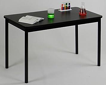Lab Table Color: Black Granite, Size: 36u0026quot; H X 72u0026quot; ...