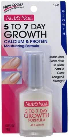 Nutranail 5 To 7 Day Growth Calcium Protein 0.45oz