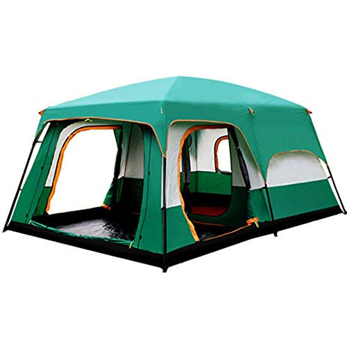 BBX-Family-Group-Tent-with-Sun-Canopy-5000-mm-Water-Column-Festival-Camping-Backpacking-Trekking-Waterproof-Outdoor-Dome-Tent-8-12-Persons-Windproof-Snow-Shelter