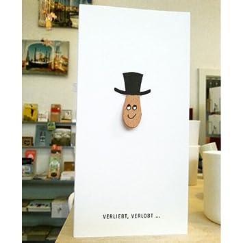 Witzige Hochzeitskarte Mit Handbemaltem Eisstiel Maria Herrlich
