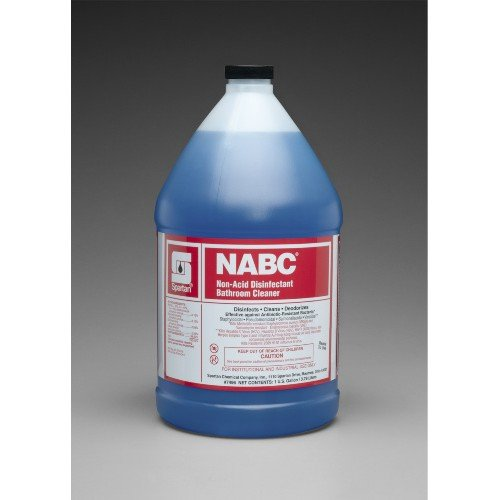 Spartan NABC Bathroom Cleaner, Gallon, Gallons,4 Per Case