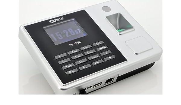 High-Tech Place - Máquina de fichar biométrica, pantalla 2.8, 10 ...