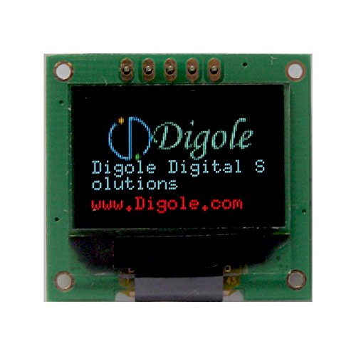 0.95 Serial:UART/IIC/I2C/SPI 96x64 True 65K Color Graphic OLED Display Module