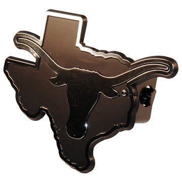 (NCAA Texas Longhorns Car Trailer Hitch Cover by Game Day Outfitters)