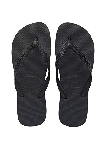 Havaianas Men's Top Flip Flops, Black, 45/46 EU  US Men)