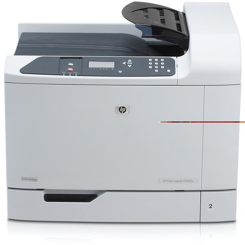 AIM Refurbish - Color LaserJet CP-6015DN Laser Printer (Q3932A) - Seller Refurb (Hp 1100 Laserjet Cable)